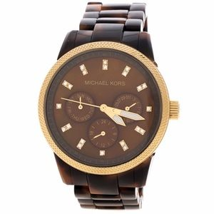 Michael Kors Tortoise Shell Watch
